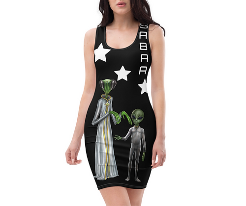 The Reticulan Sublimation Cut & Sew Dress