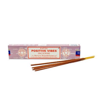 SATYA Positive Vibes Incense 15G
