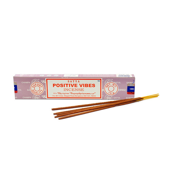 SATYA Positive Vibes Incense 15G