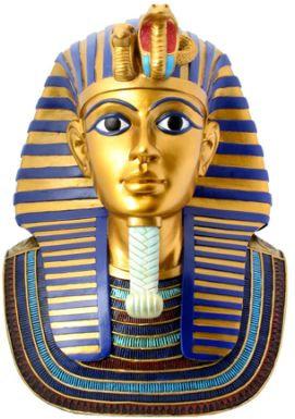 Golden Burial Mask Of Tut