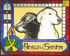 Angus and Sasha