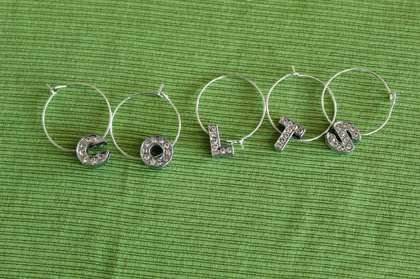 Colts Wine Charms