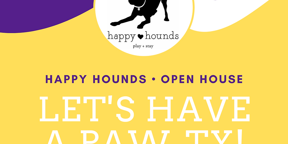 Happy Hounds Open House