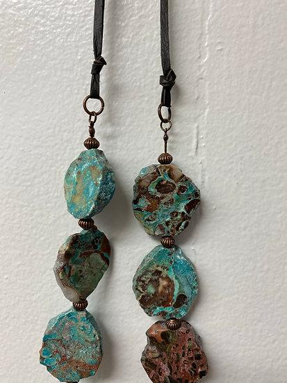 Ocean Slab necklace