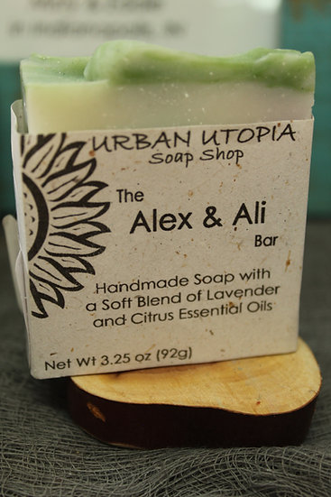 Urban Utopia Alex and Ali Soap