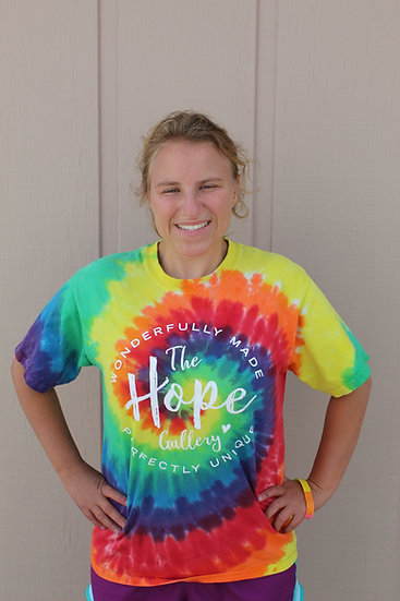 The Hope Gallery Tie-Dye T-Shirt