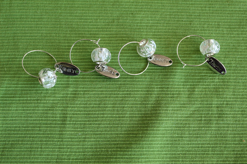 Family Wine Charms