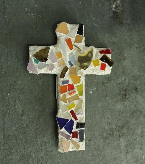 Cross Mosaic Magnet