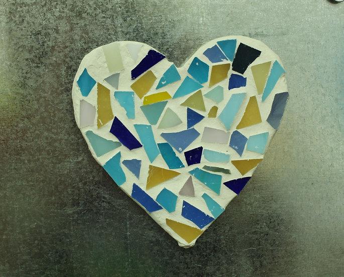 Heart Mosaic Magnet