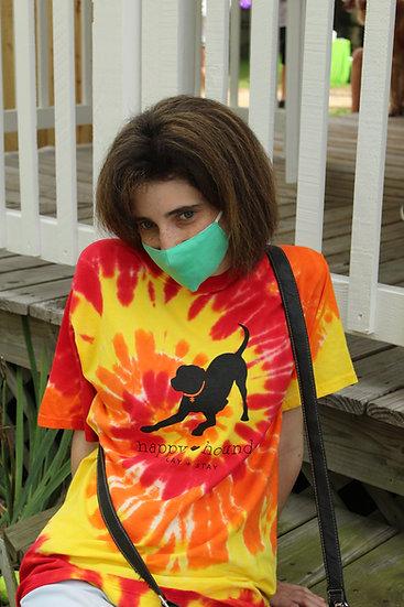 Happy Hounds Tie-Dye T-Shirt