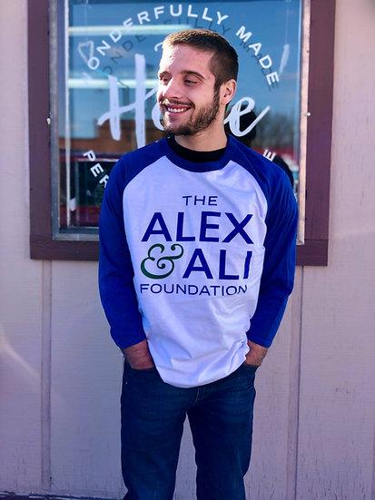Alex & Ali Raglan T-Shirt