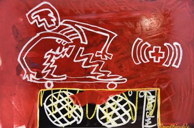 Skated Hendrix Amp