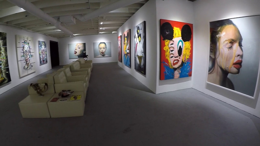 HOMME Gallery video tour