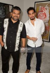 Actor Luis Guzman and his son