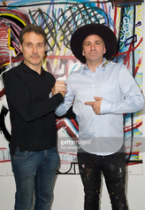 Actor Rufus Sewell & Danny Minnick
