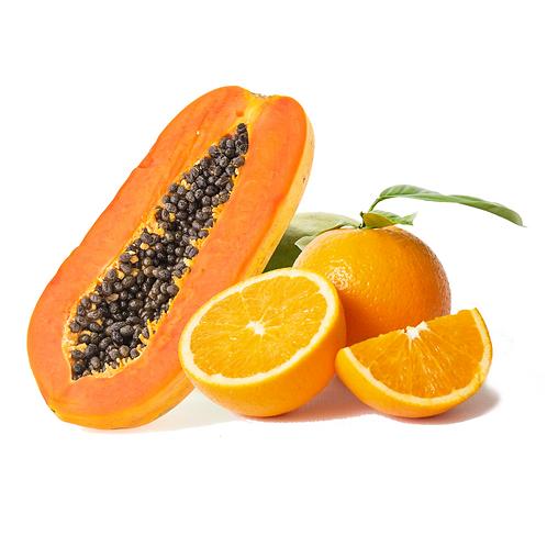 Pulpa de Papaya y Naranja | 500 Gr. | 1 Kg.