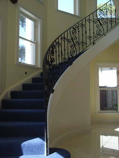 black closed string stairs in Sydney image