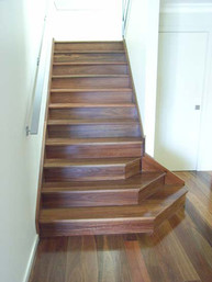 closed string timber stairs in sydney image