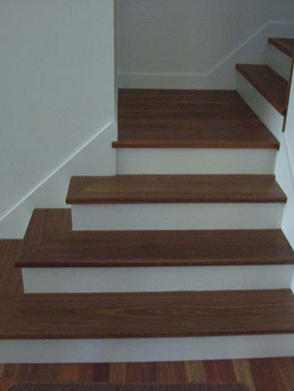 timber and white sydney based staircase image