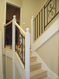 timber staircase and balustrade sydney image