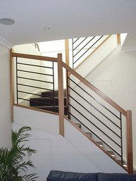 closed rise timber stairs in Sydney image