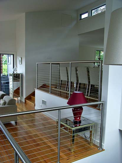 stainless steel balustrades installed in Sydney image