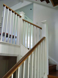 Timber handrails and balustrades by Budget Stairs Sydney