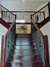 closed rise timber stairs based in sydney image