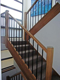 timber and metal sydney based stairs and balustrades image