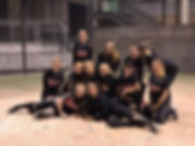 SnoCo Express Red 02-03 girls fastpitch softball team