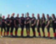 SnoCo Express Red 05 girls fastpitch softball team