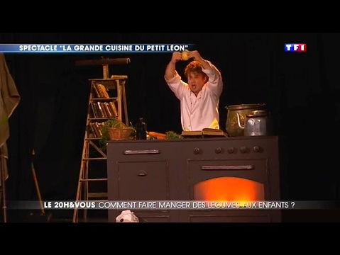 La Grande Cuisine du Petit Léon - TF1 - 20H