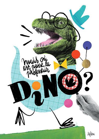 Mais où est passé le professeur Dino spectacle jeune public dinosaures enquête science