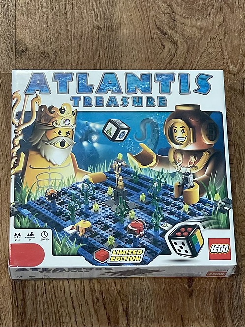 New Lego Atlantis Treasure Game
