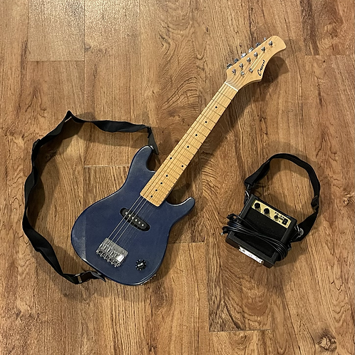 Child Size Electric Guitar and Amplifier