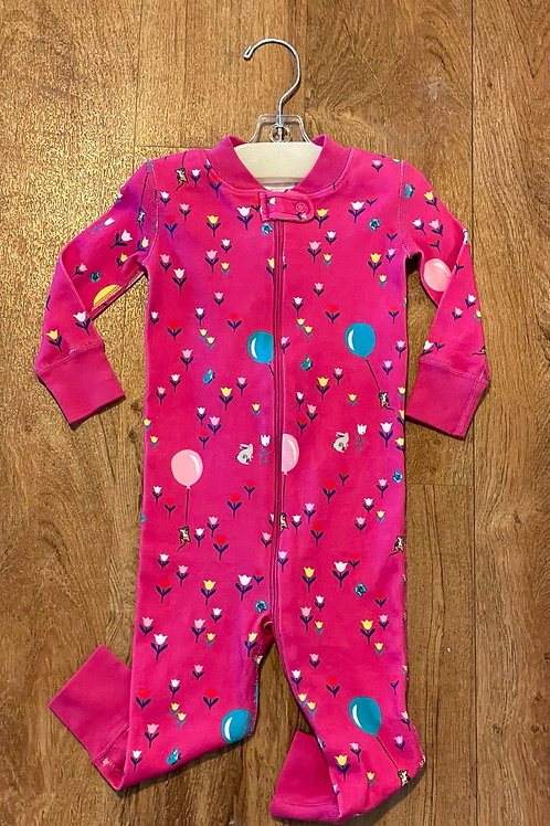 New Girl's Hanna Anderson Pajamas Sz 12-18 m