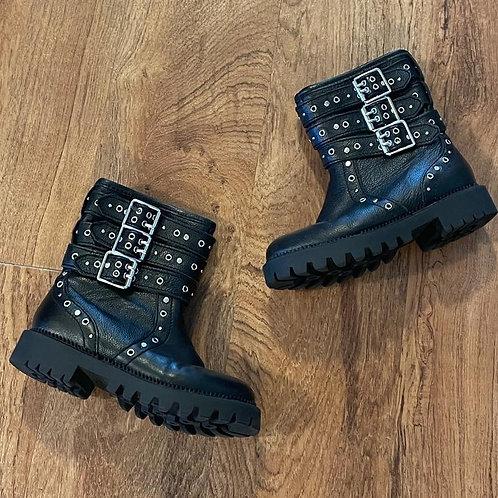 Girl's ZARA Buckle boots Sz 11.5