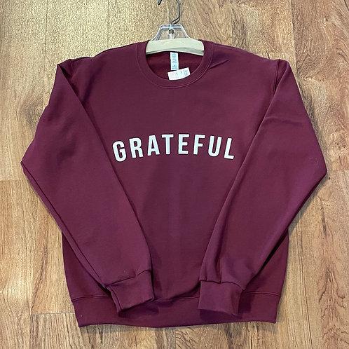 NEW Grateful Crewneck Sweatshirt Sz S