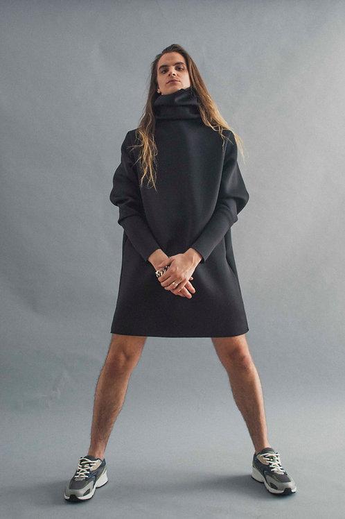 NEOPRENE GOOD-M DRESS - BLACK