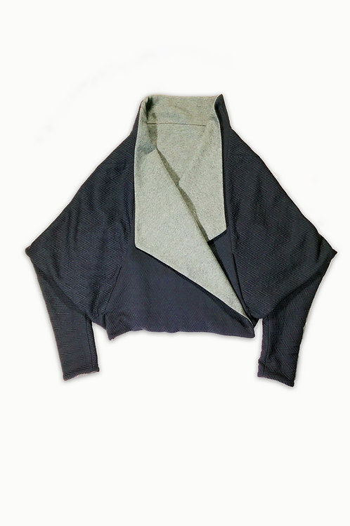 REVERSIBLE B-ROB [NAVY/GREY]