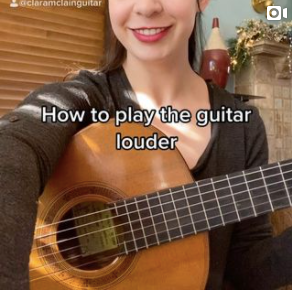 How to play the guitar LOUDER