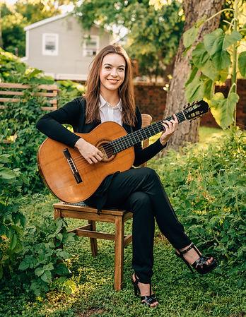 Clara McLain Classical Guitarist Galveston Houston