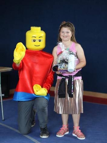 BRBD2018. Viki prize with lego man.jpg