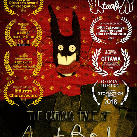 """""""The Curious Tale of Aunt Binks"""" Screening at TAAFI"""