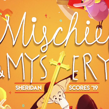 """Mischief & Mystery: Sheridan Scores '19"" Out Today!"