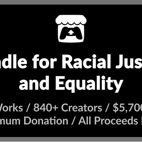 """Eves Drop"" included in itch.io Bundle for Racial Justice and Equality"