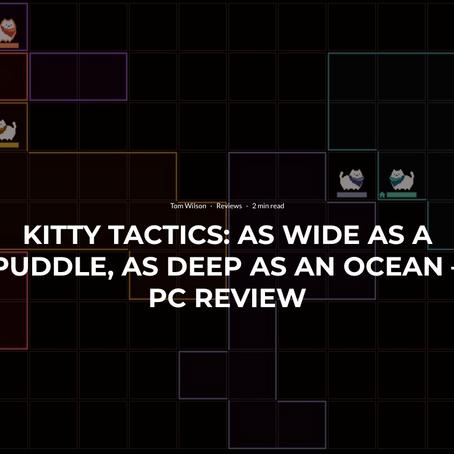"""""""Kitty Tactics"""" Reviews Roundup"""