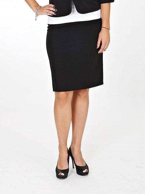 Pleat Pencil Skirt Bleach Resistant