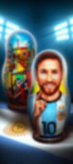 Изготовим матрёшки с портретами, логотипы на матрёшках, художник Юрий Громов.