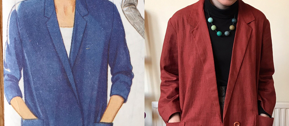 Eighties Autumn Jacket